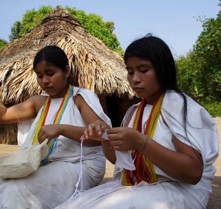 Arhuaco Weavers in Santa Marta