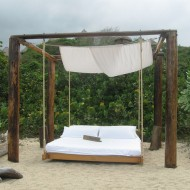 Ecohab Outside bed, Tayrona National Park Colombia_7804170036_m