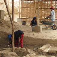 Escavation Workers Pyramids of Tucume