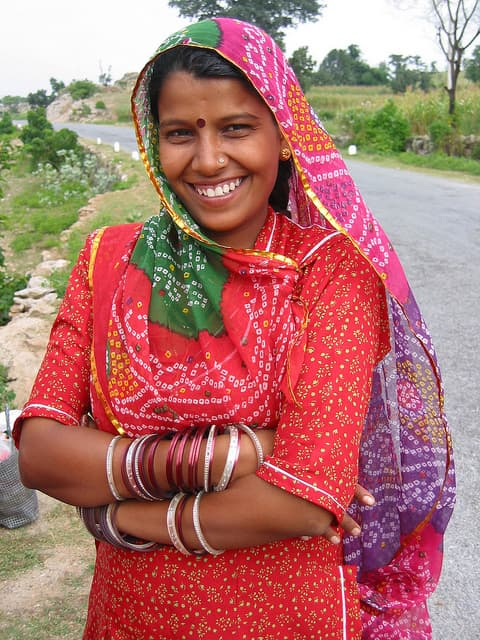A Rajasthani Woman | Big Five Tours