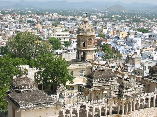 A View from City Palace Udaipur | Big Five Tours