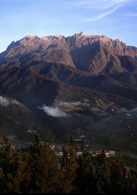 View of Mount Kinabalu Sabah