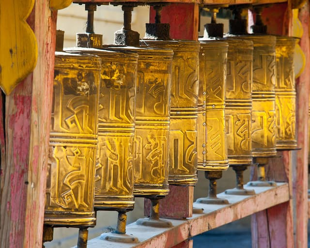Prayer Wheels | Big Five Tours