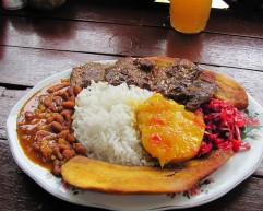 Columbian Meal