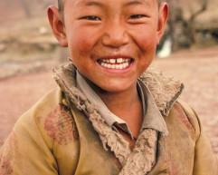 Young Boy Tibet
