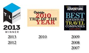 Award Logos | Big Five Tours