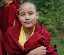 Young Nun Bhutan