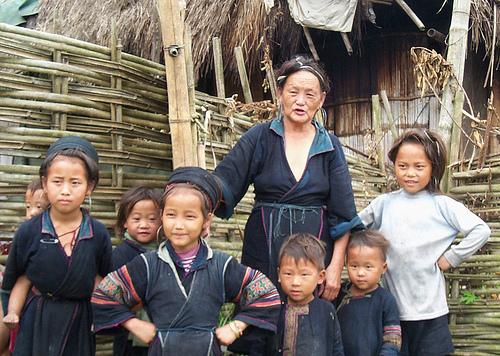 Hamong Family, Sa Pa Vietnam