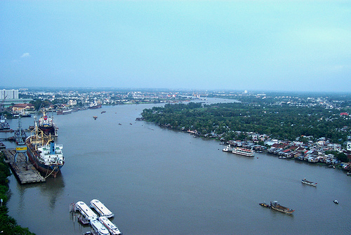 Saigon River, Ho Chi Minh City