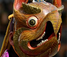 Bhutan mask | Big Five Tours