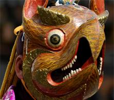 Bhutan mask copy