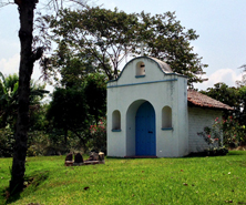 Little chapel on coffee estate