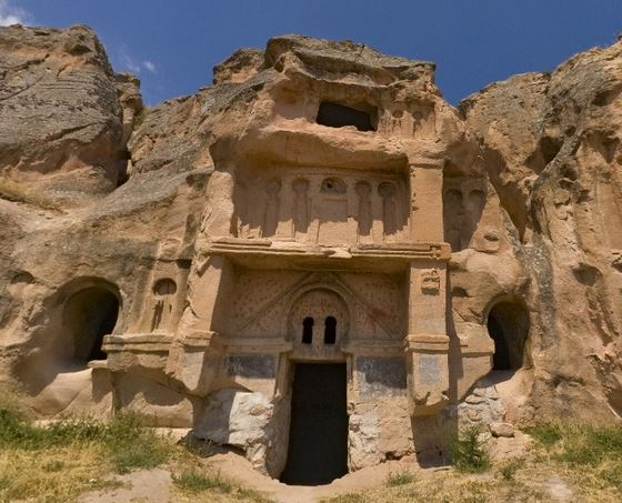 Goeme Underground Cave Churches in Turkey
