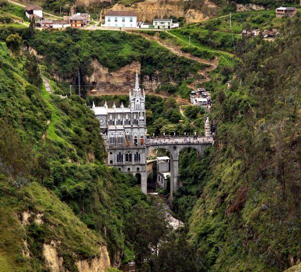 Las Lajas Sanctuary, Ipiales, Nariño, Colombia