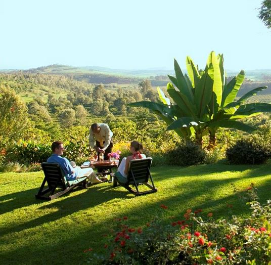 For couples passionate about the outdoors, Gibb's Farm in Northern Tanzania is a perfect honeymoon choice!