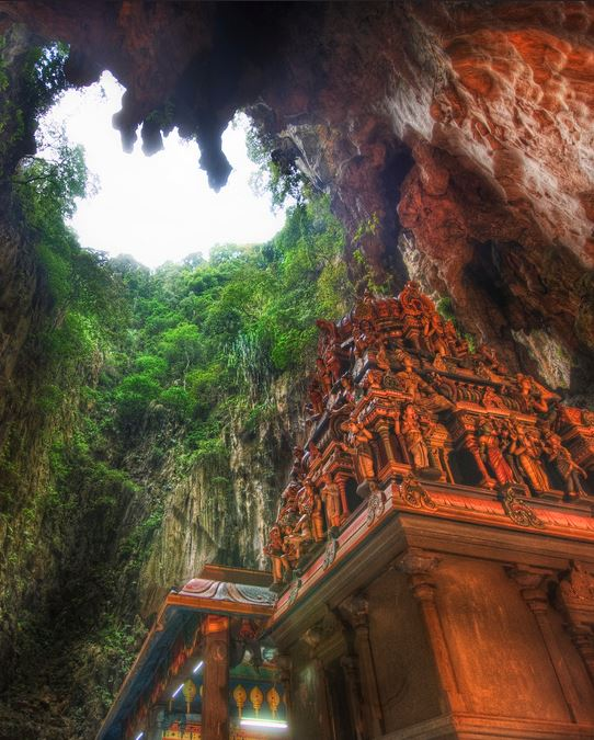The Batu Caves of West Malaysia