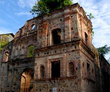 Panama ruin