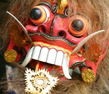 Indonesian Mask | Big Five Tours